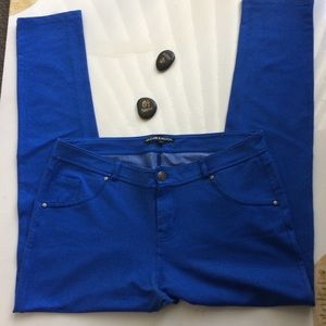 Clear Rock Blue Pants Size 2x